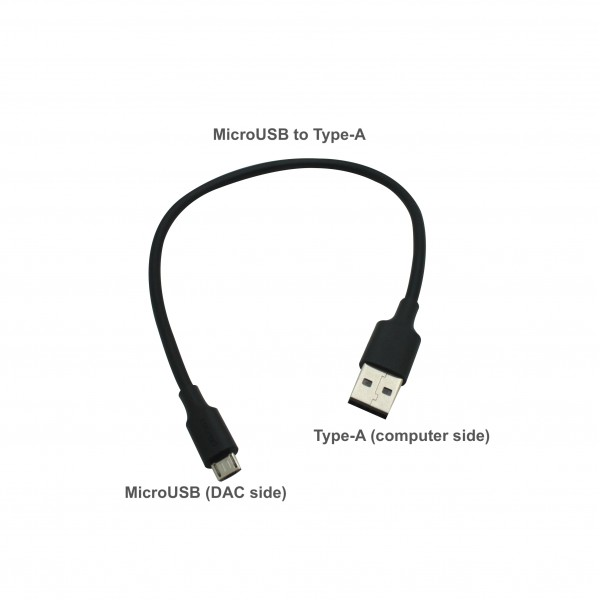 MicroUSB to Type-A USB Cable