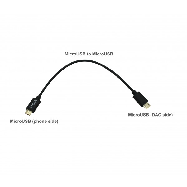 MicroUSB to MicroUSB Cable