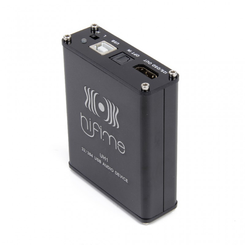 HiFime UH1 384kHz USB DAC, headphone amplifier and I2S/DSD