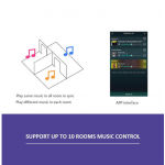 Up2Stream WIFI Audio Receiver/Streamer