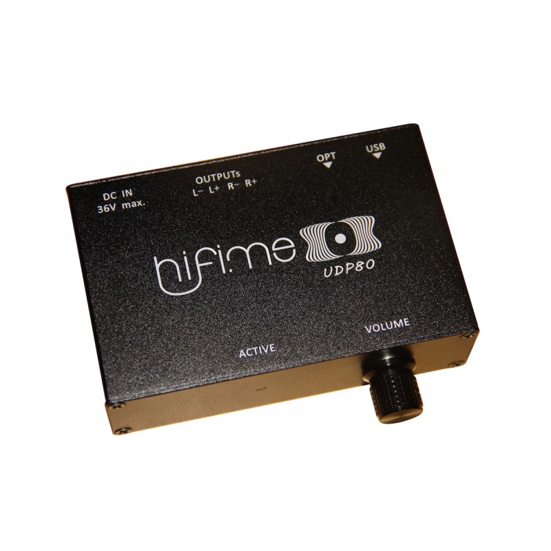 HiFime UDP80 USB and SPDIF True Digital Power Amplifier