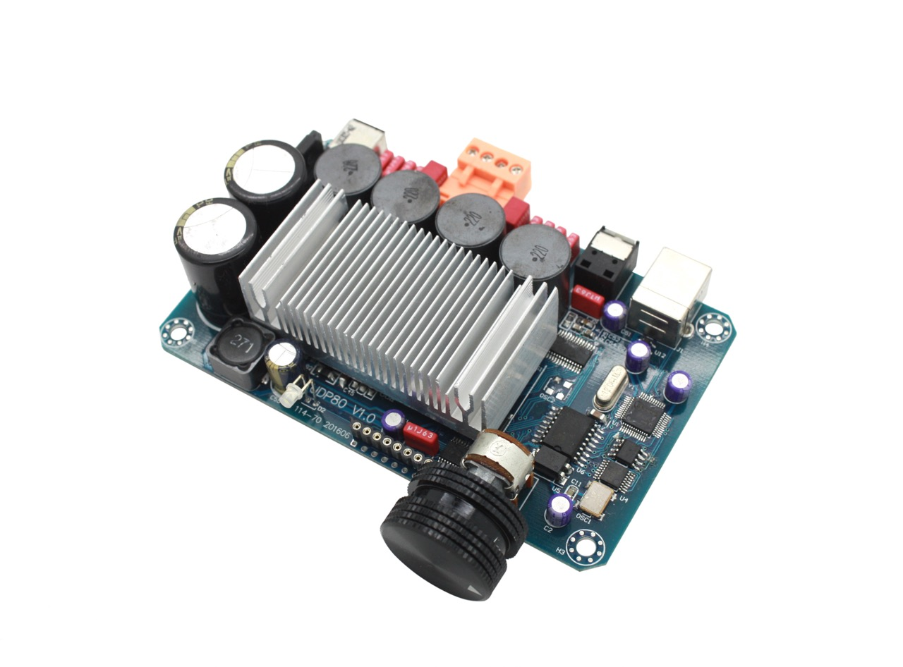 The UDP80 fully digital amplifier